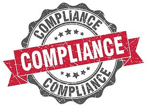 Compliance stamp image