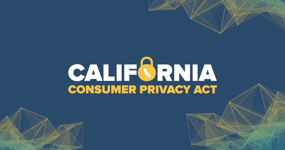U.S. Consumer Privacy Regulations: California's Consumer Privacy Act of 2018