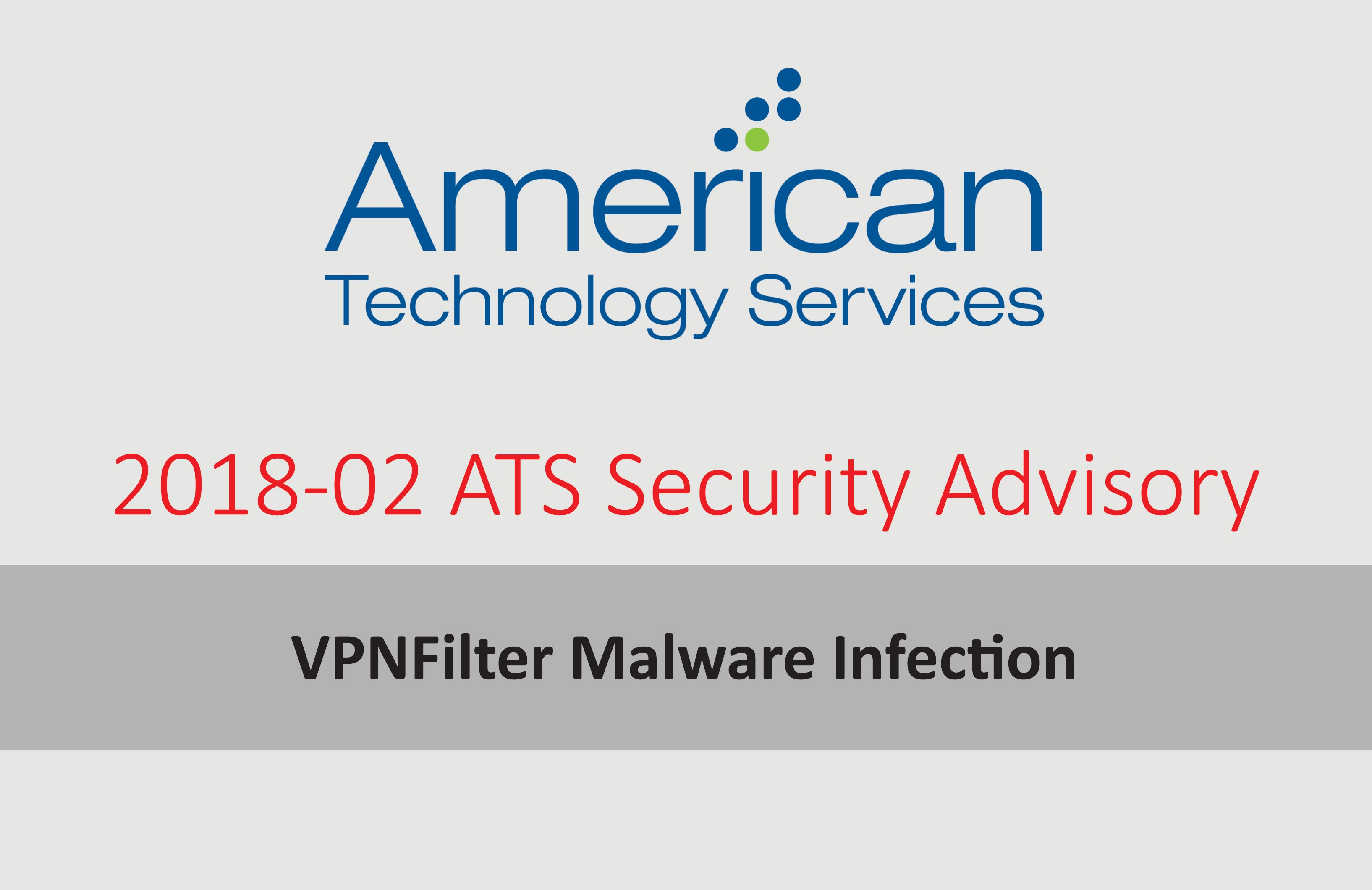 VPNFilter Malware Infection